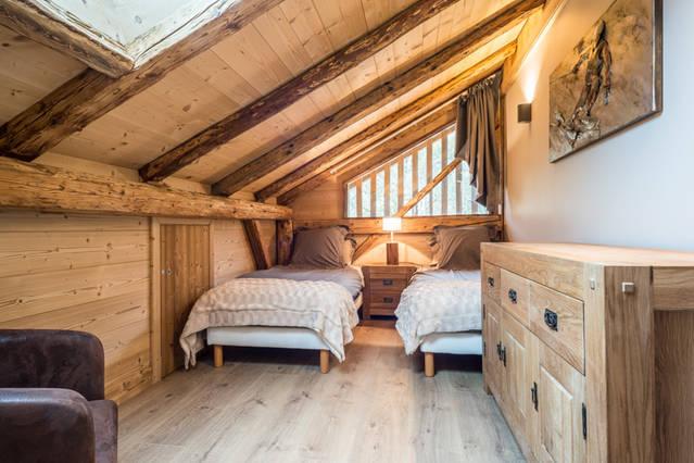 Chambre twin skieur 2
