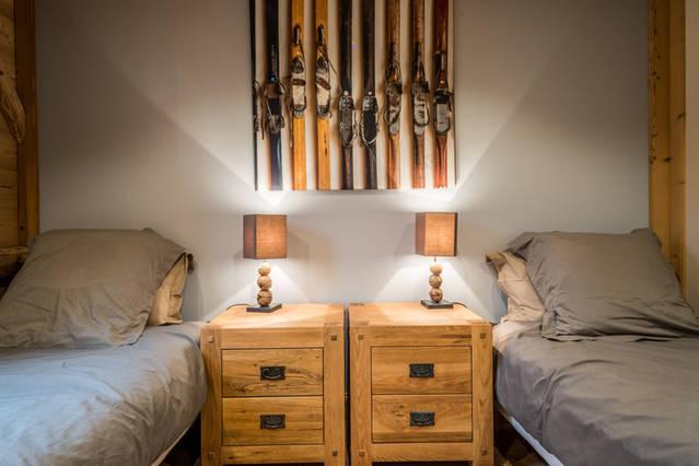 Chambre twin skis 2